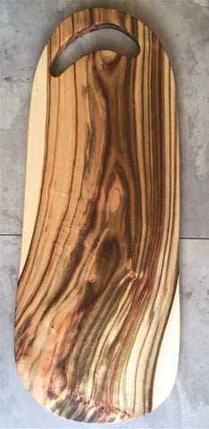 Wooden chopping and serving board - Fat Lady II