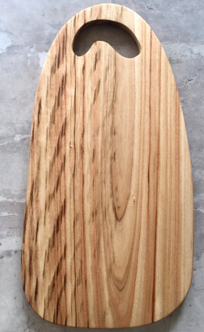 Wooden chopping and serving board - Little Lady IV