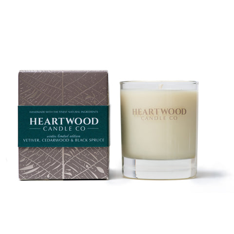 Vetiver, Cedarwood & Black Spruce