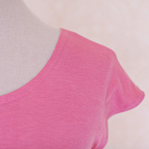 Basic Tee - Dreamy Rose