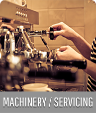 Coffee Machinery Supplied and Serviced