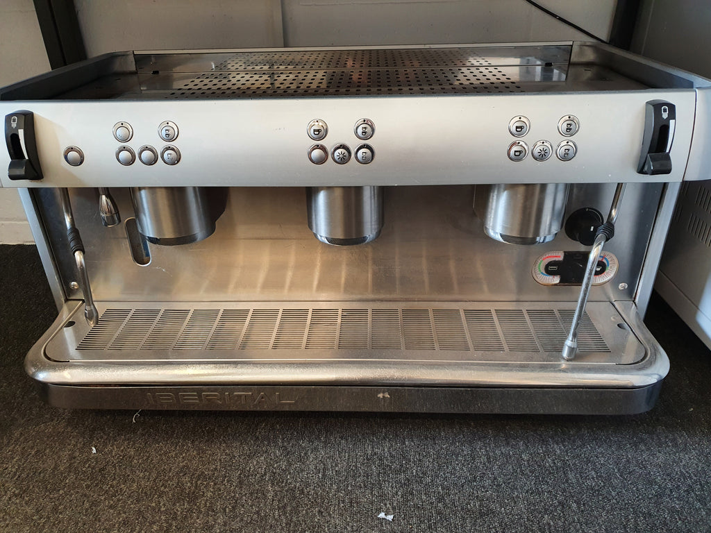 Reconditioned Iberital Expression 3 Group Espresso Machine
