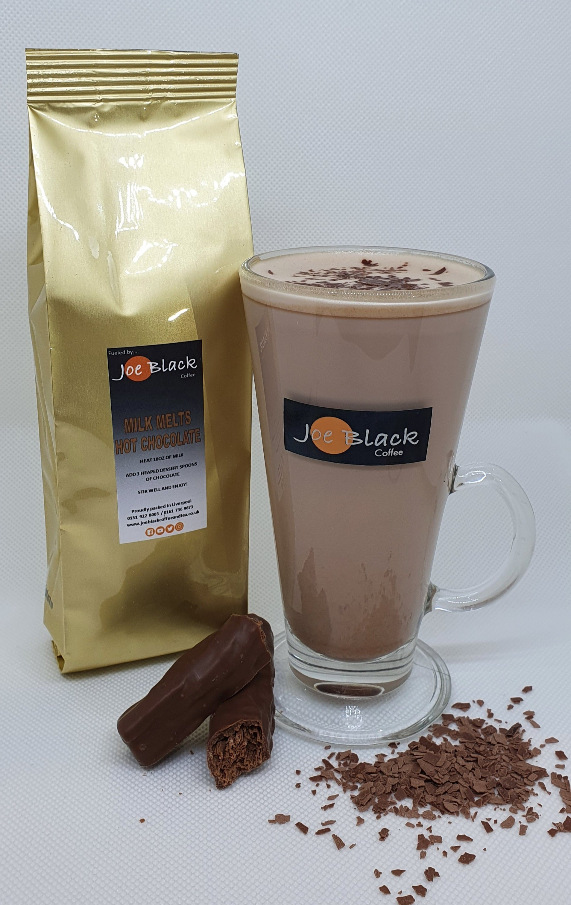 Milk Hot Chocolate Melt 200g