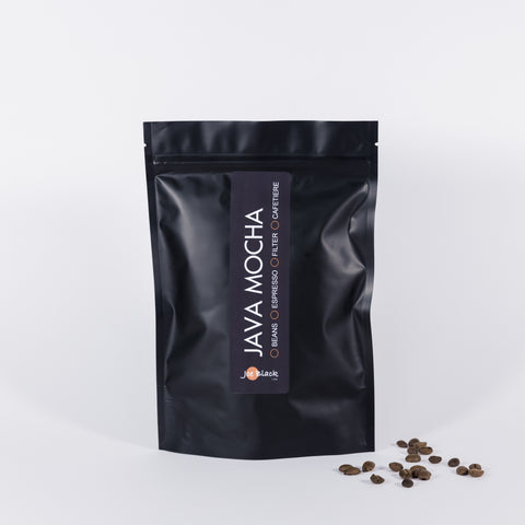 Java Mocha - with personalised label