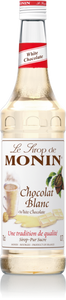 MONIN WHITE CHOCOLATE SYRUP 70CL