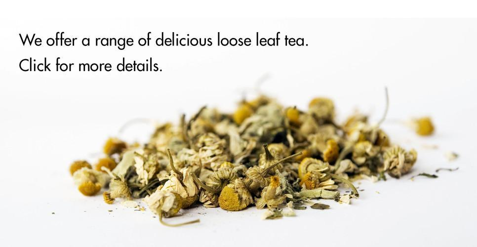 Try Joe Black's delicious range of loose leaf tea