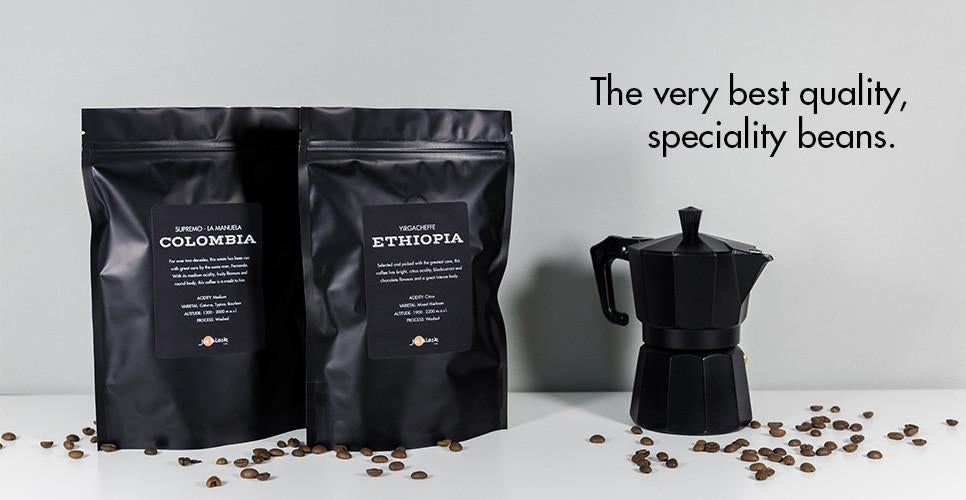 Try our speciality collection coffees