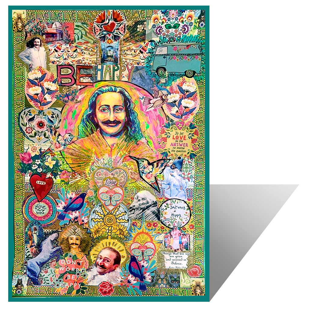 Meher Baba Collage Print