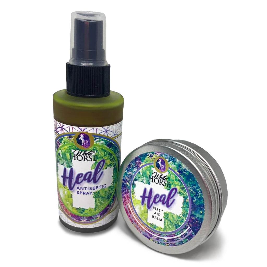 HEAL Antiseptic Spray and Balm COMBO