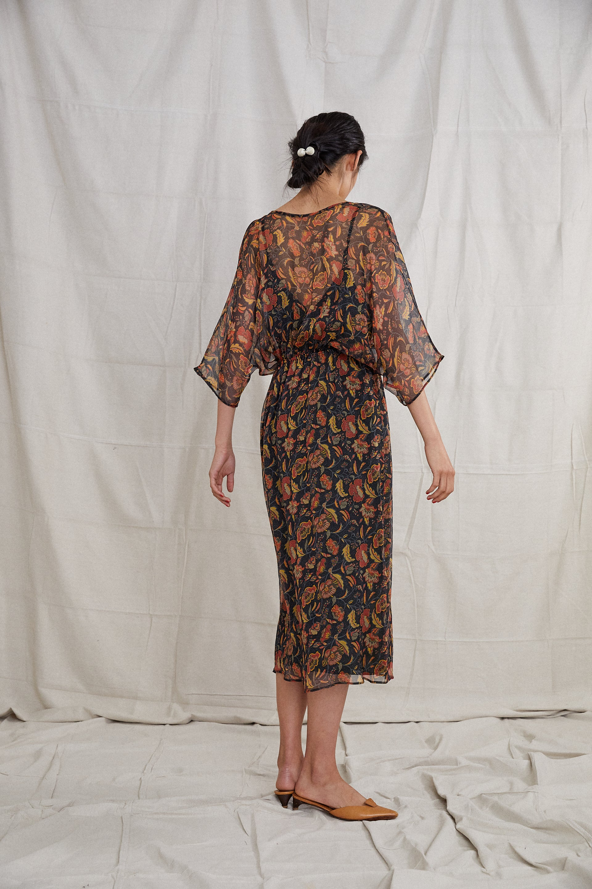 Vaya Dress - Poppy Silk
