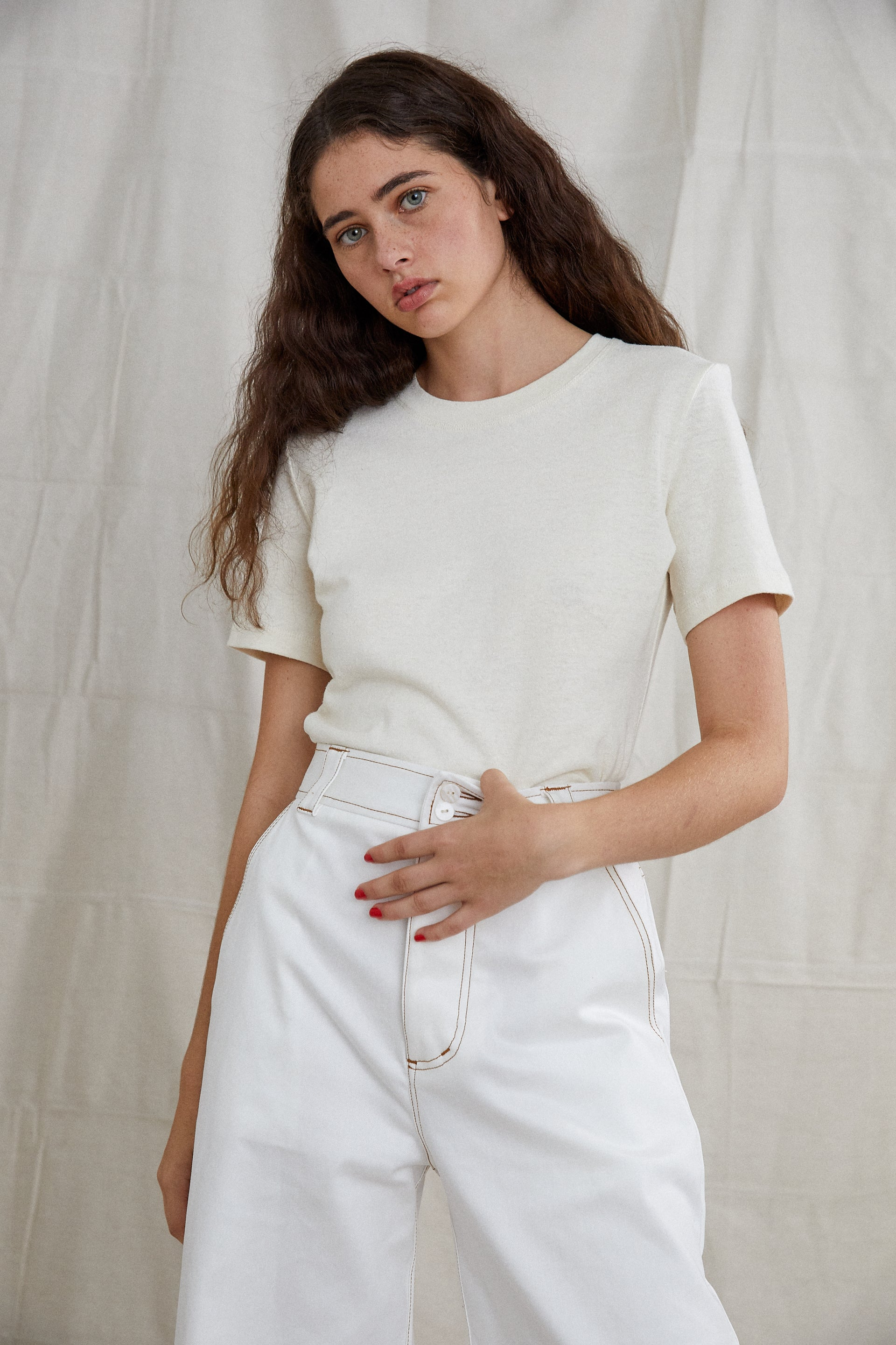Tay T-Shirt - Undyed Hemp Organic Cotton