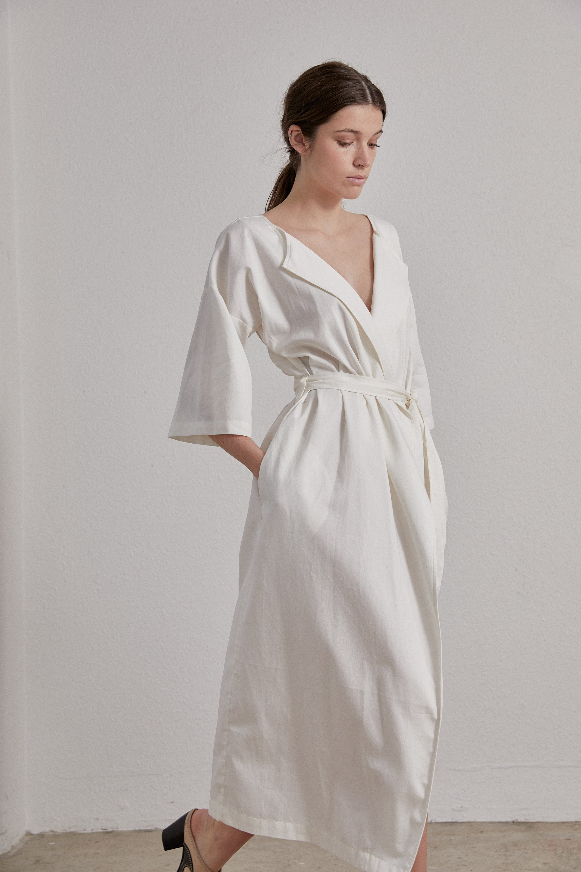 Ora Dress - Milk Organic Cotton