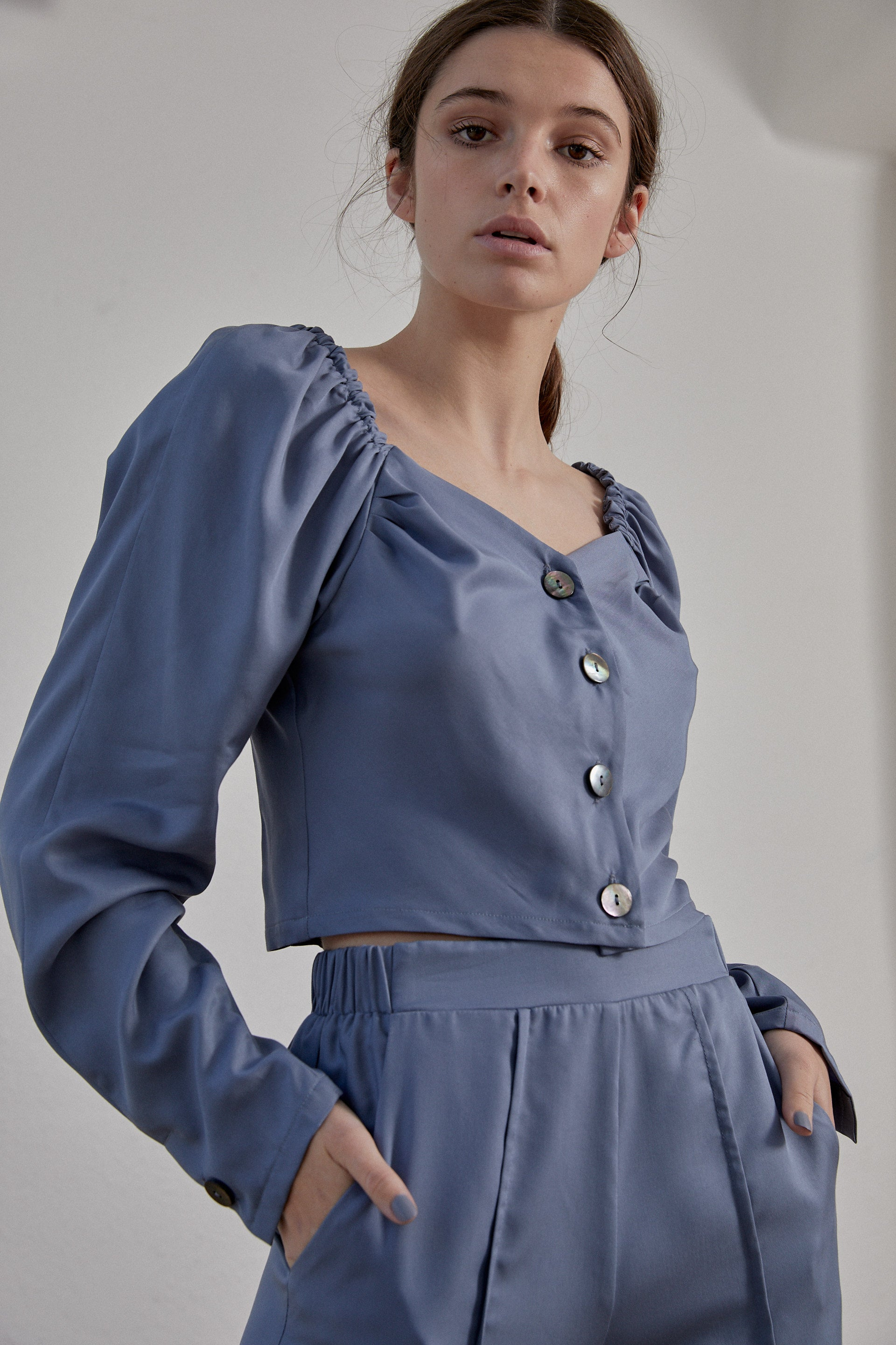 Virginia Top - Smokey Blue PRE-ORDER