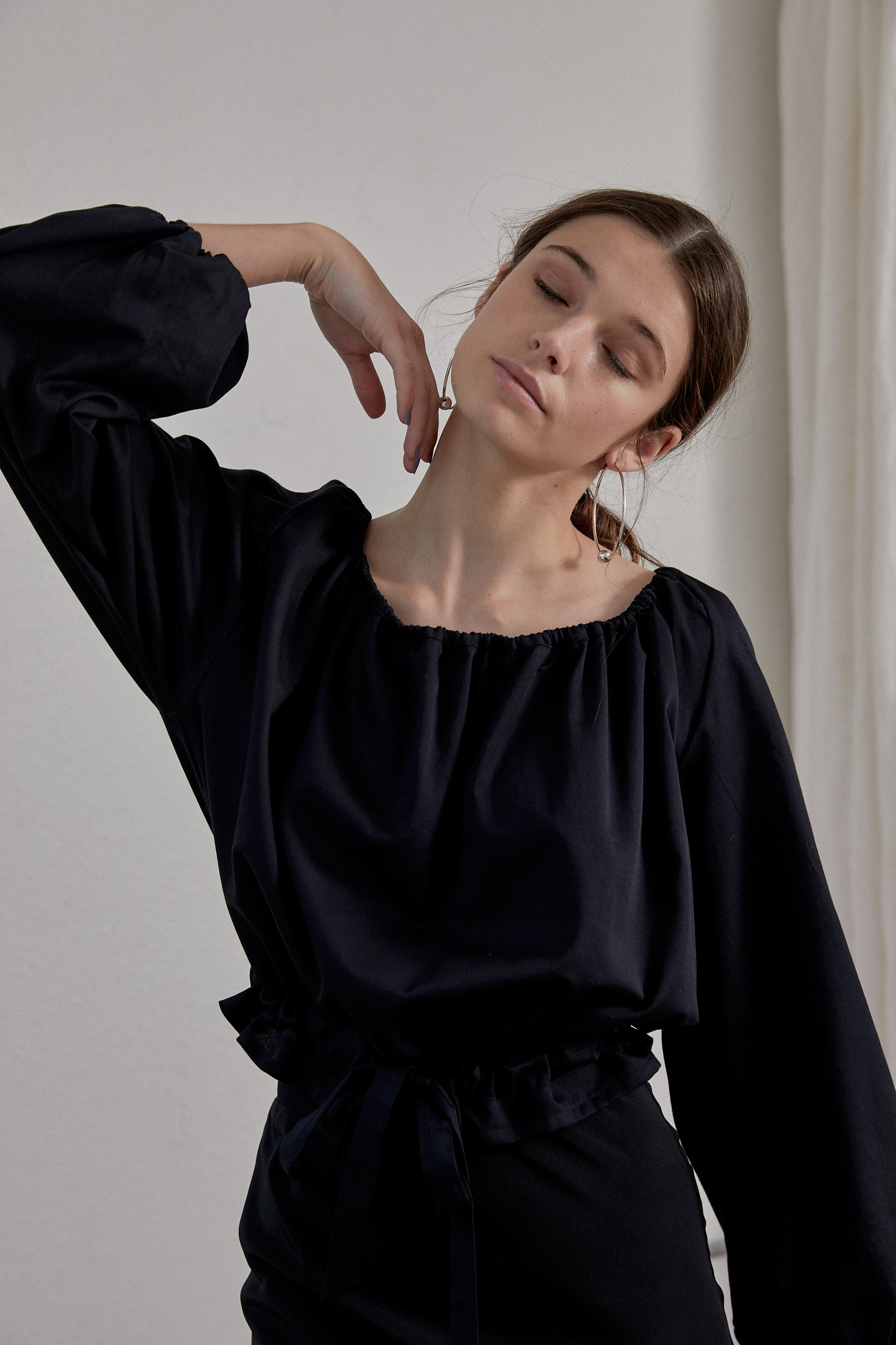 Isadora Top - Onyx Organic Cotton