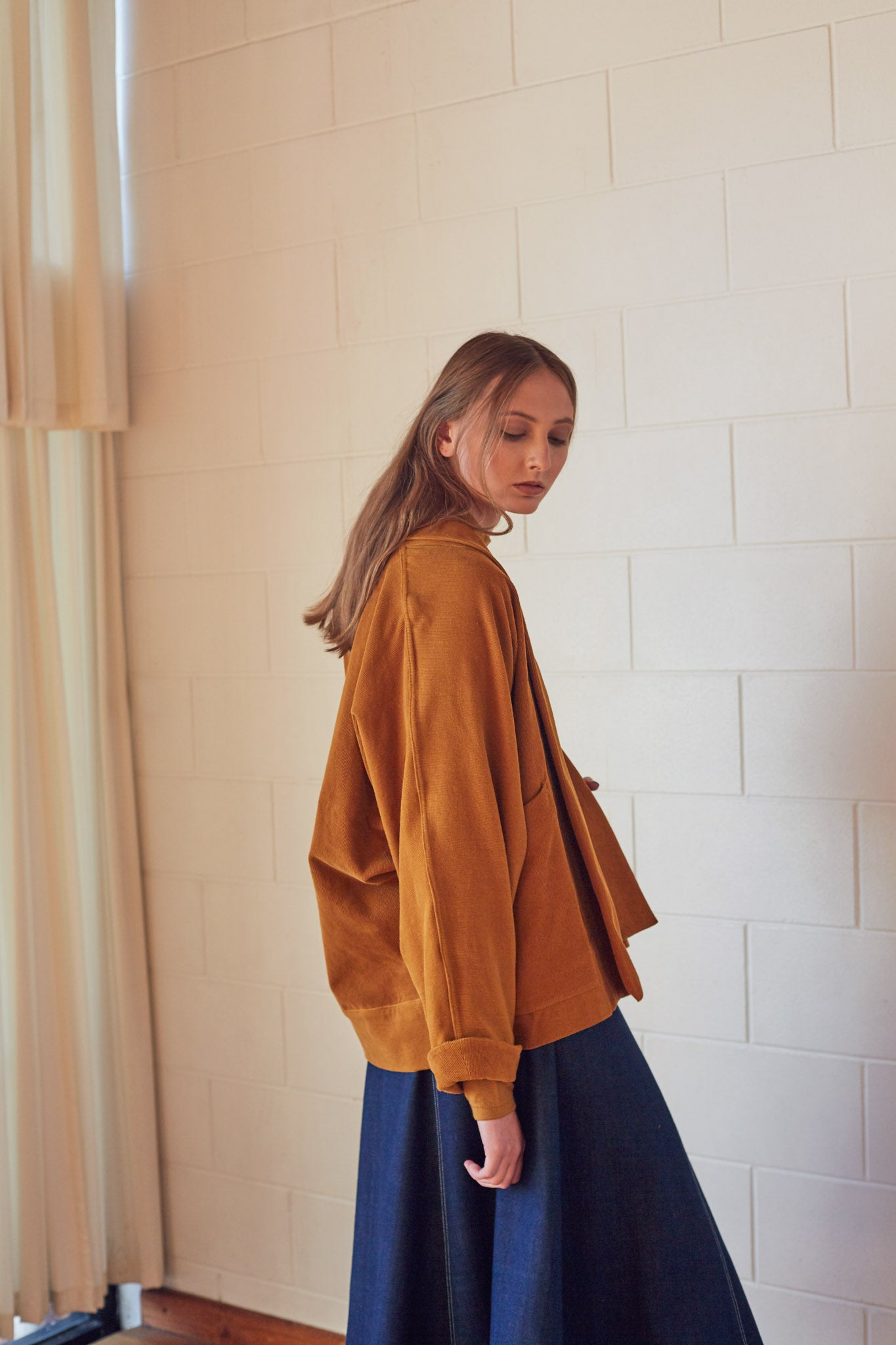 Elov Jacket - Ochre Organic Cotton