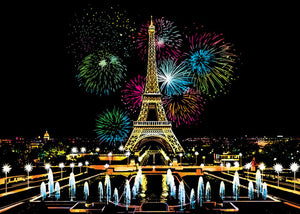 Eiffel Tower - Fireworks