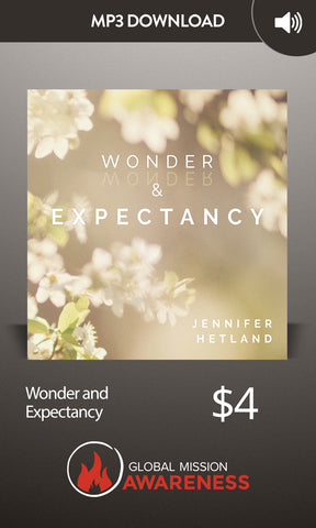 Wonder and Expectancy