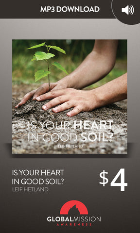 Is Your Heart Good Soil?