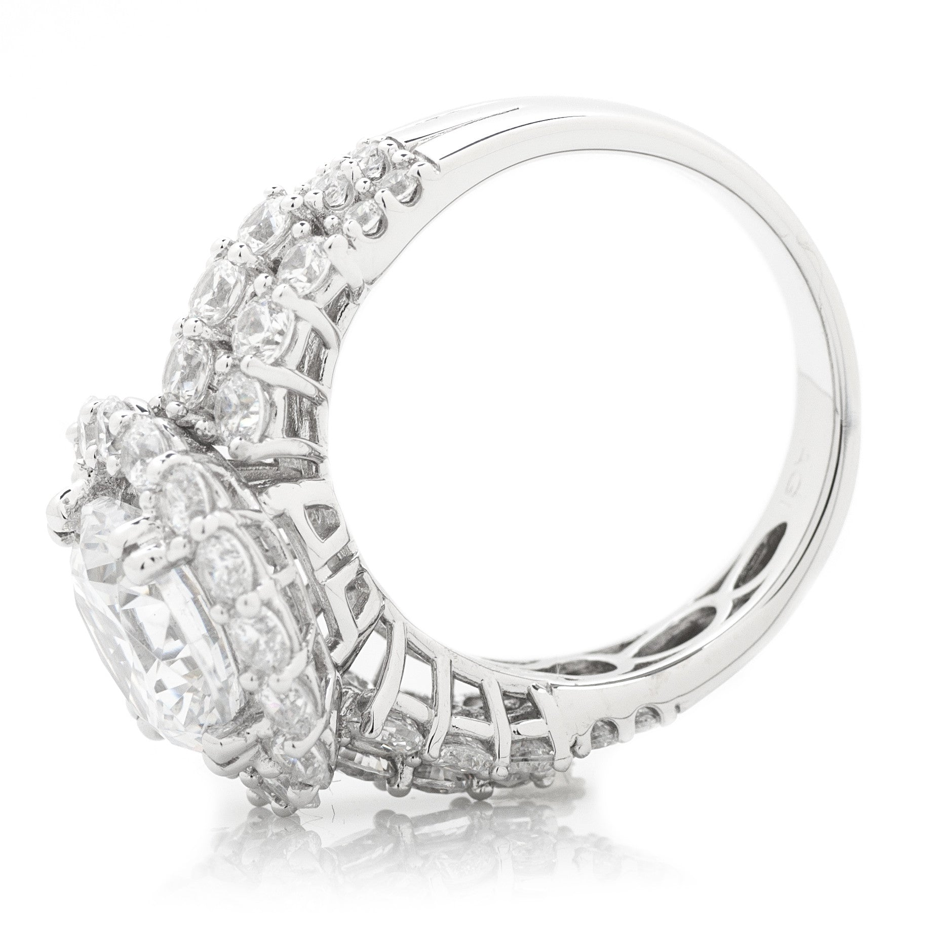 shank engagement agi ring triple row round products b rings statement