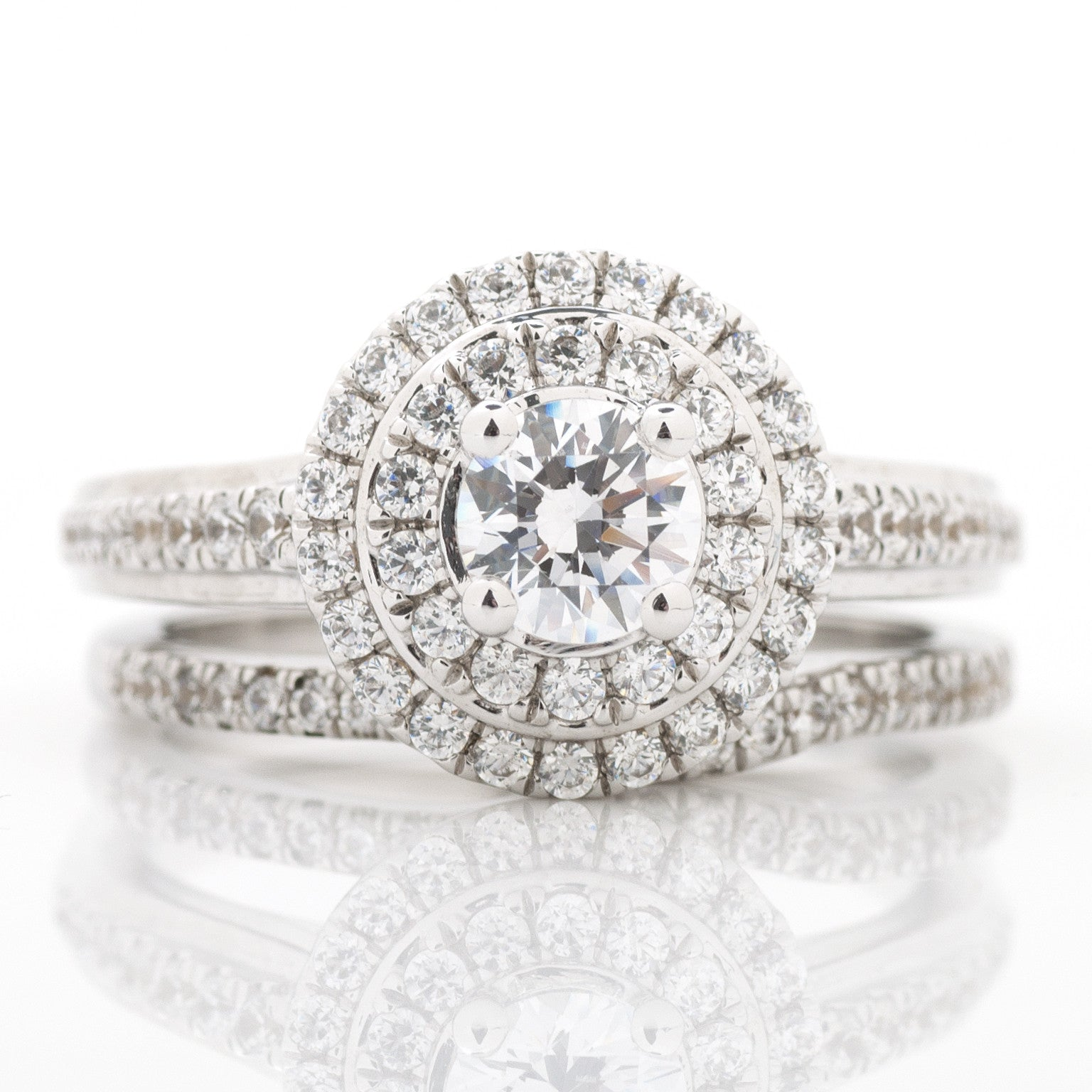 carat rings double product engagement dublin find halo ring