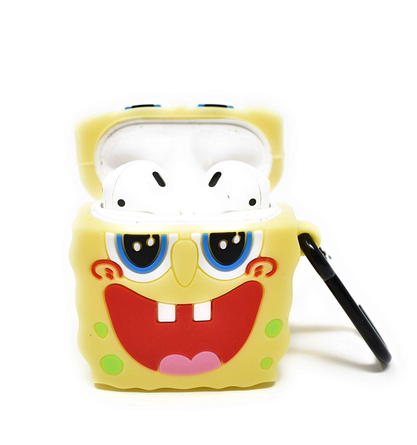 SPONGEBOB & PATRICK SOFT SILICONE AIRPODS CASES - Hanging Owl