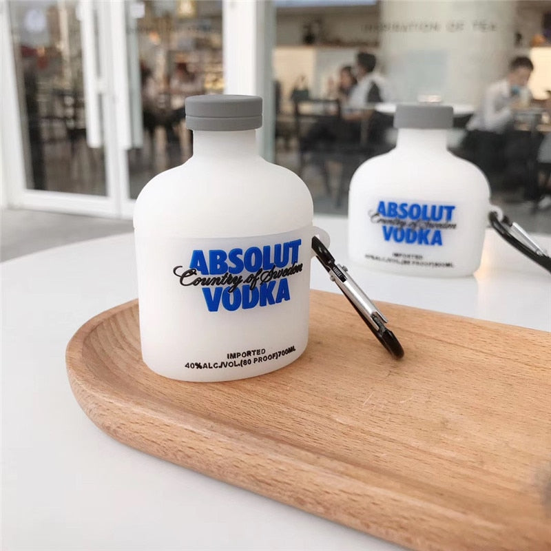 ABSOLUT SILICONE  AIRPODS CASE COVER FOR 1-2 & PRO