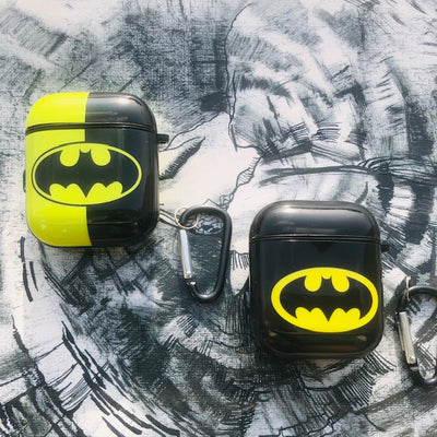 BATMAN GLOSSY SILICONE AIRPODS CASE COVER FOR 1&2