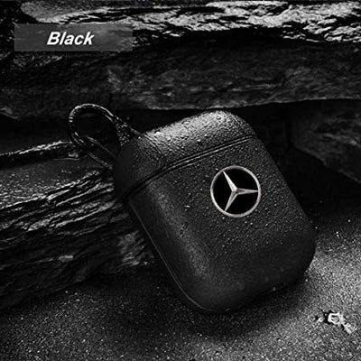 Benz leather AirPods Case