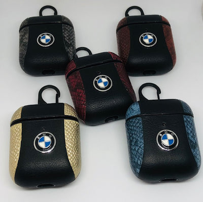 BMW 2 Tone Leather Airpods Cover