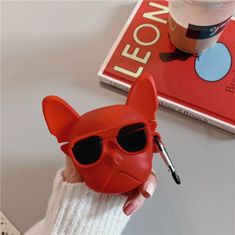 BULLDOG SILICONE AIRPODS PRO CASE - Hanging Owl