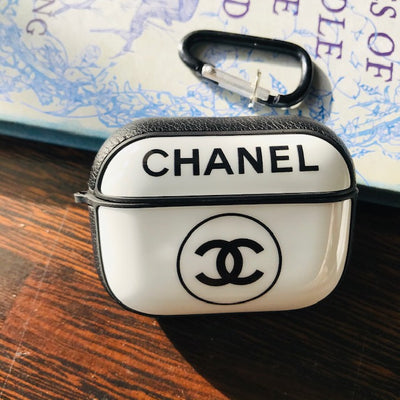 CHANEL GLOSSY SILICONE COVER FOR AIRPODS PRO