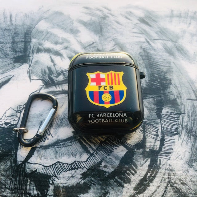 FC BARCELONA GLOSSY SILICONE AIRPODS CASE COVER FOR 1-2&PRO - Hanging Owl