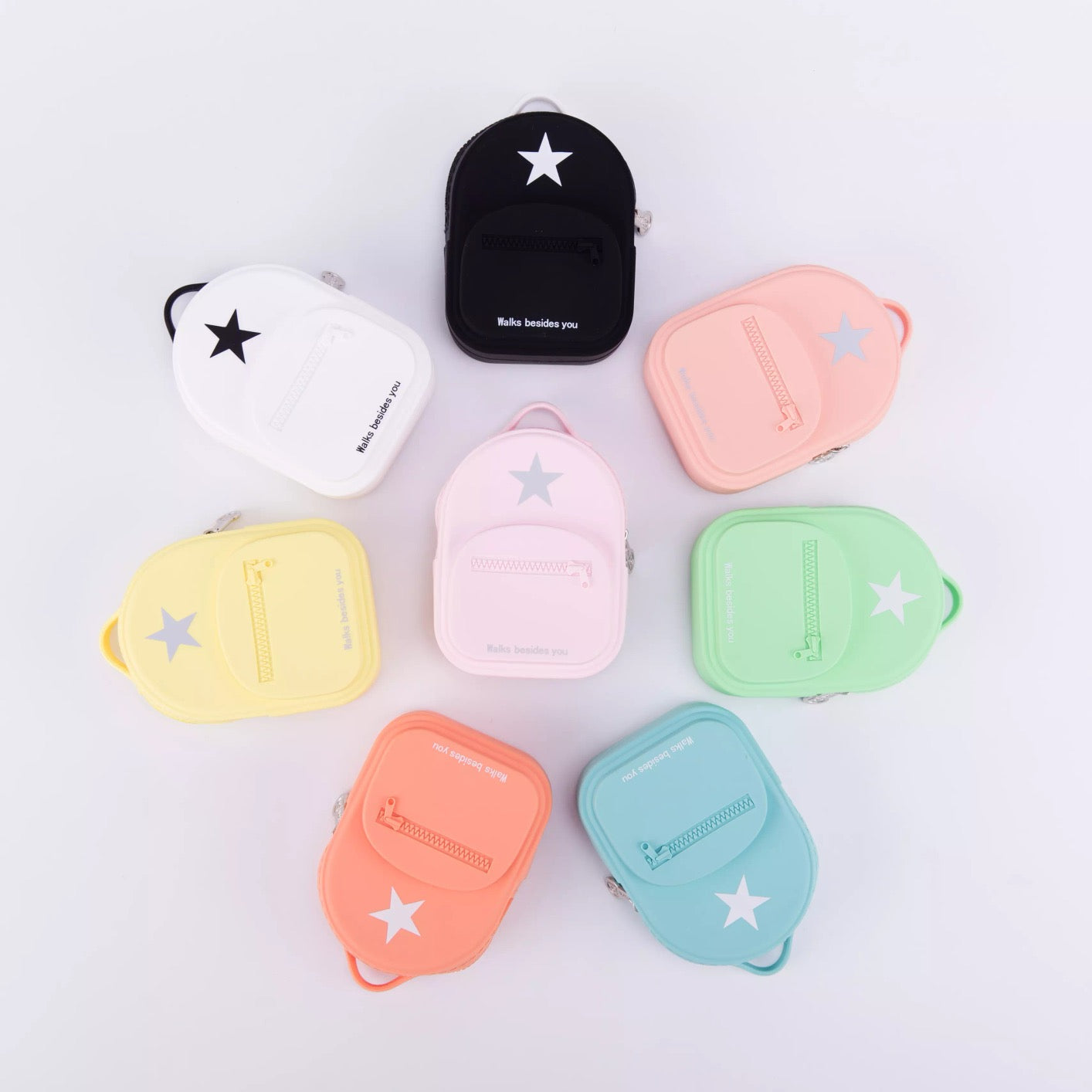 3D BACKPACK DESIGNE SOFT SILICONE COIN PURSE