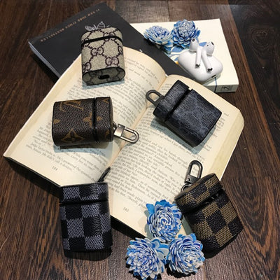 ROYAL LEATHER MIX DESIGNER PRINT AIRPODS CASES