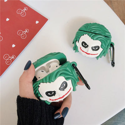 JOKER SILICONE AIRPODS CASE COVER  FOR 1-2