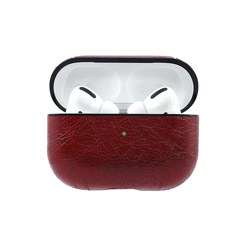VINTAGE LEATHER AIRPODS PRO CASE COVER - Hanging Owl
