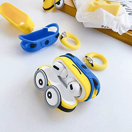 MINION SILICONE AIRPODS PRO CASE COVER - Hanging Owl