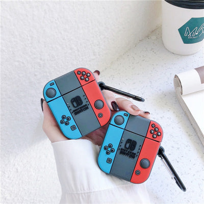 NINTENDO SILICONE AIRPODS CASE COVER FOR 1 & 2