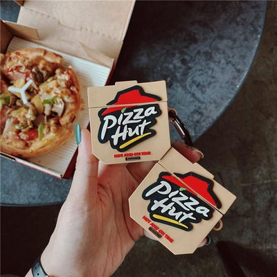 PIZZA HUT SILICONE AIRPODS CASE COVER FOR 1-2 & PRO