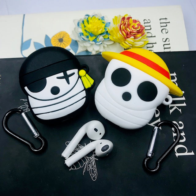 Pirate Silicone AirPods Case Cover - Hanging Owl