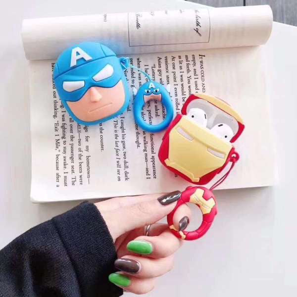 SUPER-HERO SILICONE AIRPODS CASE FOR 1&2 - Hanging Owl