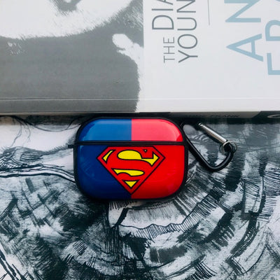 SUPERMAN GLOSSY SILICONE COVER FOR AIRPODS PRO