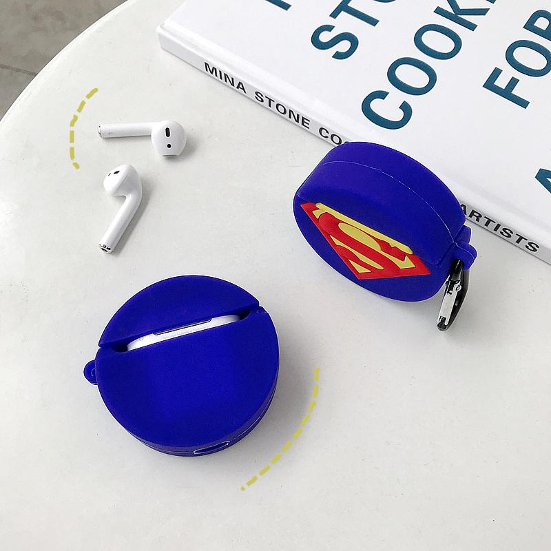 SUPERMAN SILICONE AIRPODS CASE - Hanging Owl