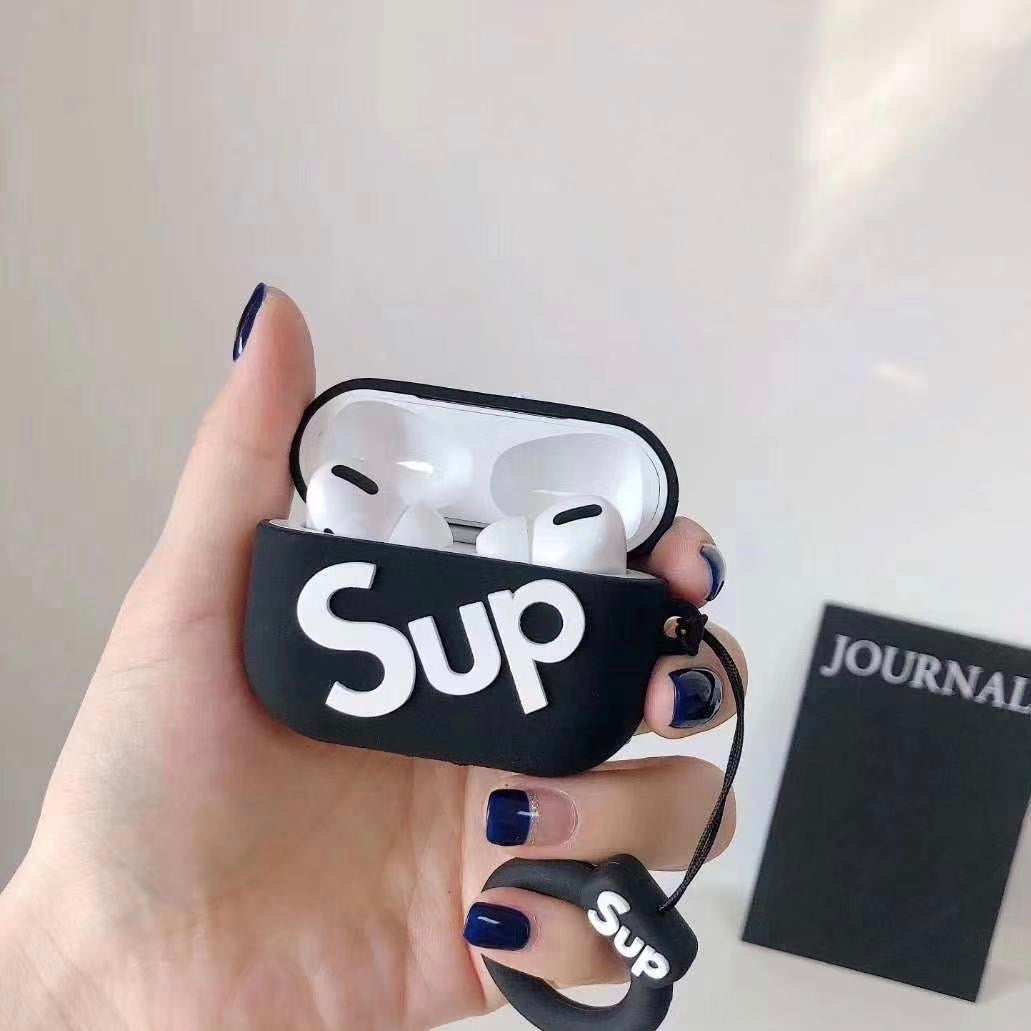 SUP SILICONE AIRPODS PRO CASE COVER - Hanging Owl