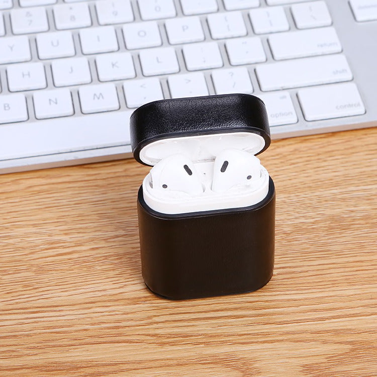 CLASSIC PLAIN LEATHER AIRPODS CASES - Hanging Owl