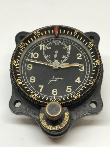 WW2 German Luftwaffe Junghans Aircraft Clock BO-UK II FL23886