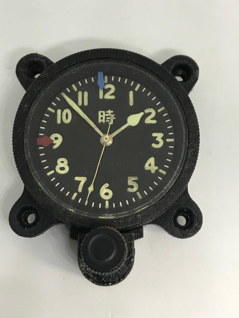 WW2 Japanese Imperial Amy Aircraft Clock Type 100 Flight Clock