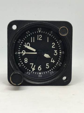 Waltham A13A Military 8-Day Aircraft Clock
