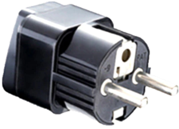 Power Plug Adapter / Converter (US to EU, UK, DE, IT, AU, NZ, CN)