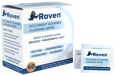 Raven Document Scanner Cleaning Wipes